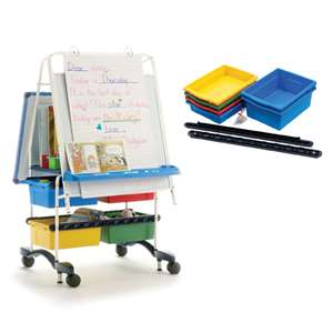 Royal® Reading Writing Center with 4 Stubby Tubby and 2 Large Open Tubs