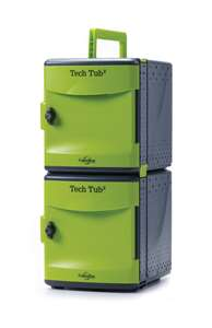 Tech Tub2 -holds 10 devices