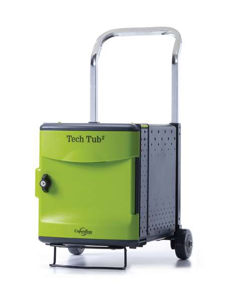 Tech Tub2® Trolley- holds 6 devices