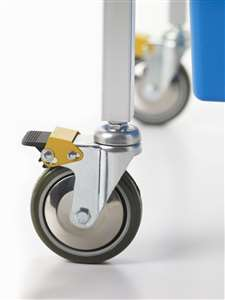 "4"" locking casters"