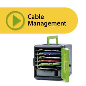 Cabling your Tech Tub2: holds 6 or 10 devices