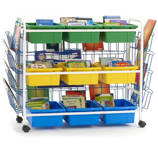 Deluxe Leveled Reading Book Browser Cart