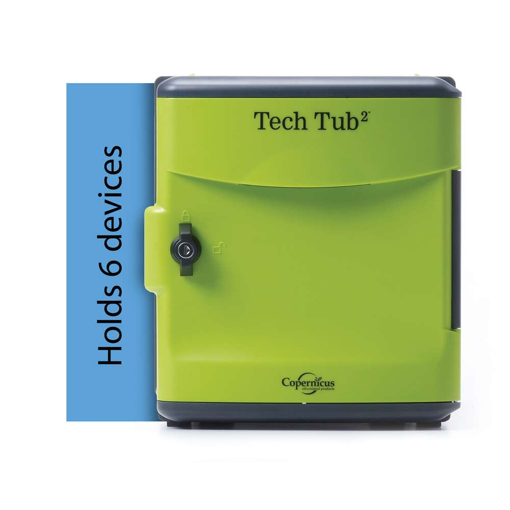 Tech Tub2® with Wall Mount - holds 6 devices