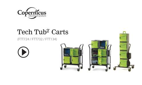 Tech Tub2 Modular Carts