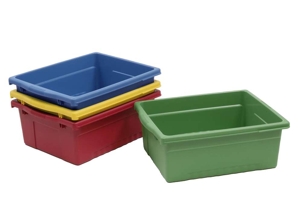 4 Large Open Tubs