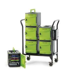 Tech Tub2® Modular Cart - holds 32 iPads