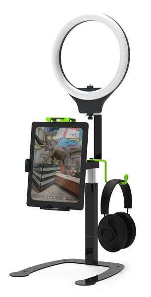 Dewey Video Recording Stand with Light and Doc Cam