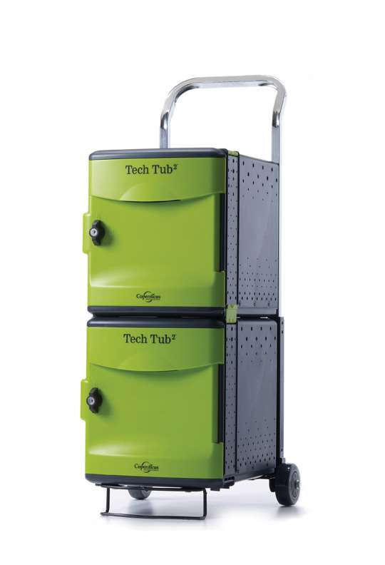 Tech Tub2® Trolley- holds 10 devices