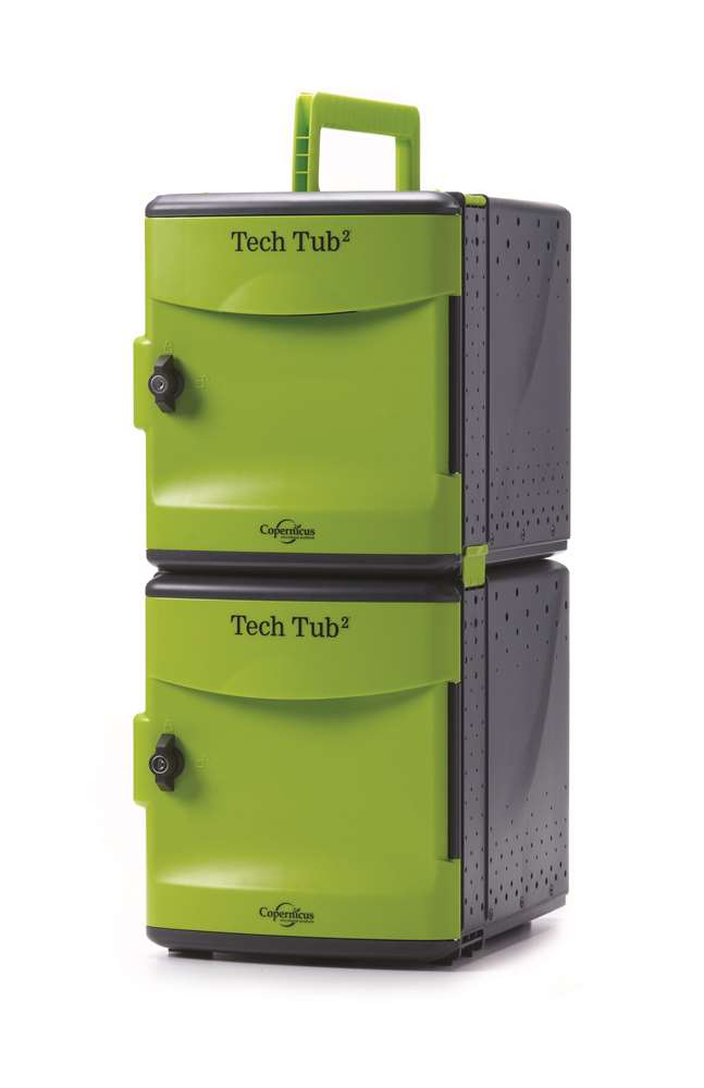 Tech Tub2- holds 10 devices