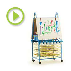 Double Sided Art Easel