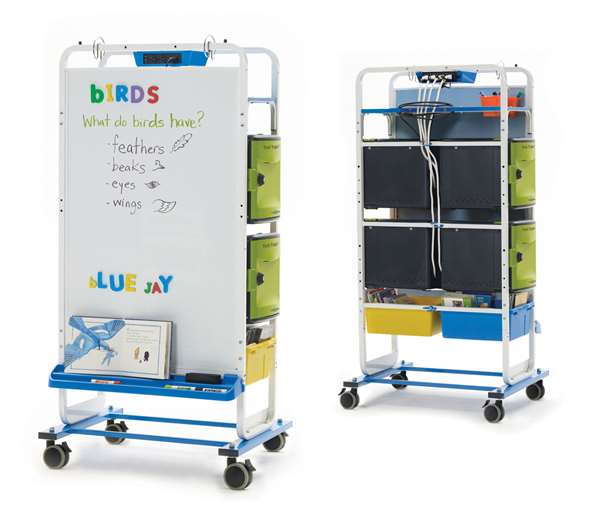 Dual Duty Teaching Easel - holds 24 devices