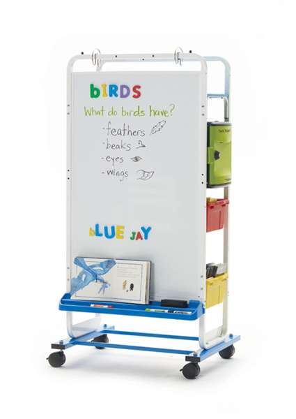 Dual Duty Teaching Easel - holds 6 devices