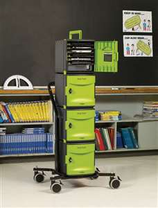Tech Tub2 Stacking Cart- holds 24 devices