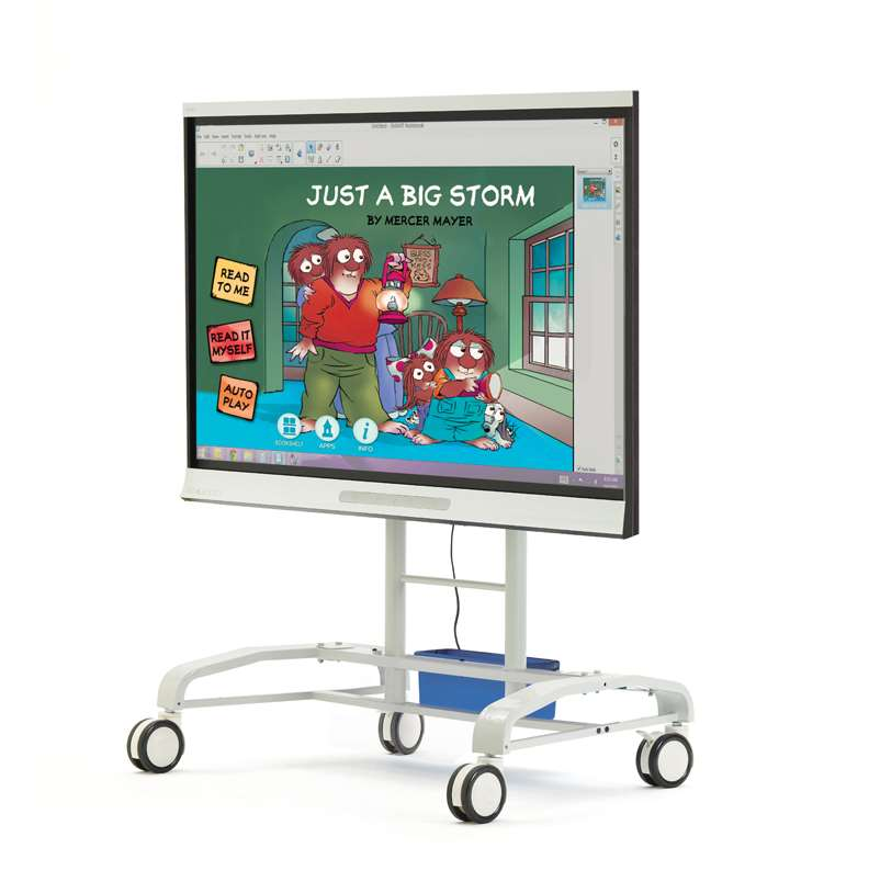 iRover2 for Interactive Flat Panels (handles removed)