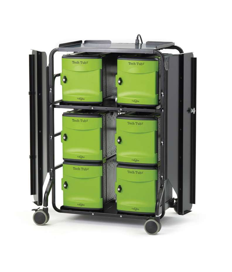 Tech Tub2® Premium Cart-holds 32 devices