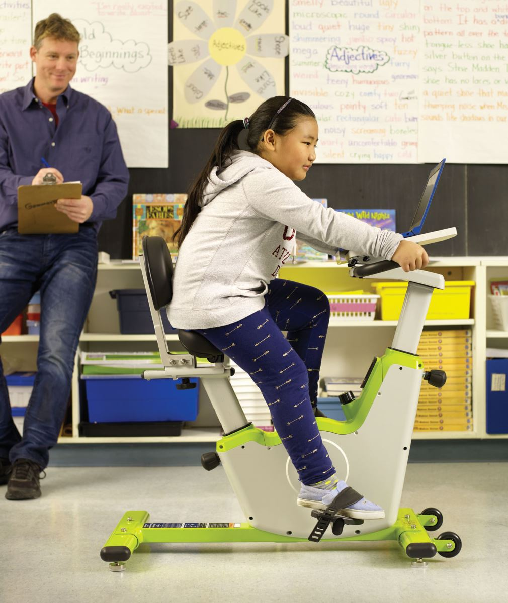 Self-regulation Classroom Cruiser stationary bike for kids