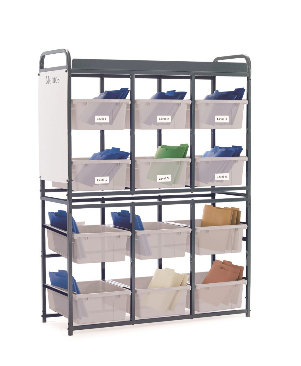 Storage Room Organizer Clear Tubs for STEM
