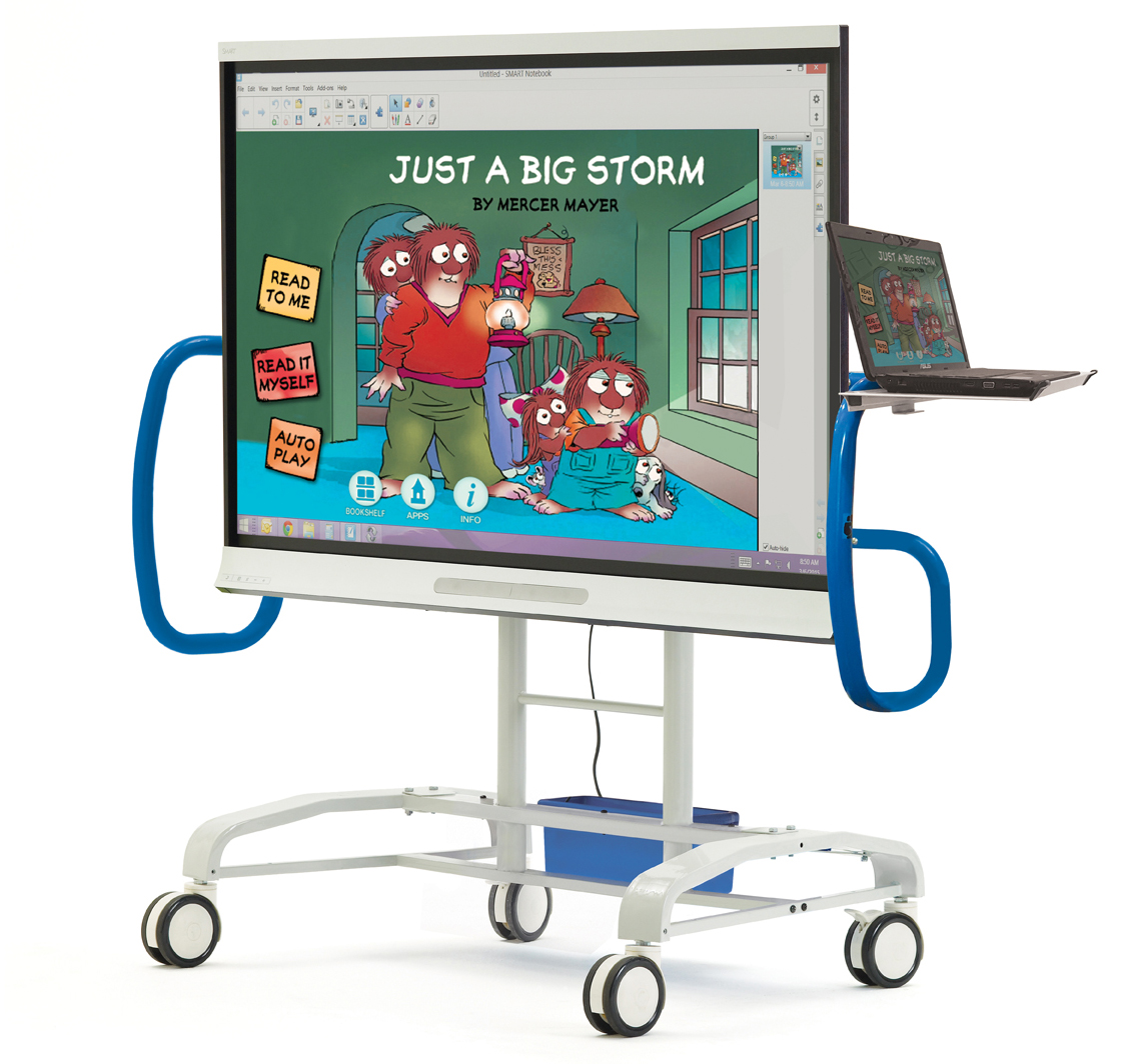 iRover2 for interactive flat panels